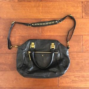 Elliott Lucca Black Leather purse